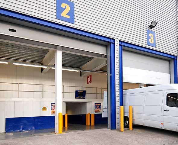 Loading Bay Safestore Self Storage Manchester